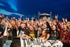 Festival de musique Topfest 2015, Piestany, Slovaquie Image stock