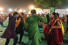 Festival de Navratri - Índia Imagem de Stock