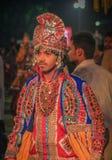 Festival de Navratri, Gujarat, Índia Imagens de Stock