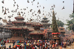 Festival de Nepal imagenes de archivo