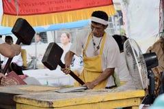 Festival de neuf dieux d'empereur Photographie stock libre de droits