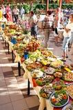Festival de nourriture d'hôtel d'été Images libres de droits