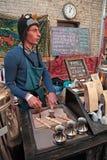 Festival de nourriture de rue dans Kyiv, Ukraine Photographie stock
