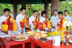 Festival de nueve dioses del emperador Fotografía de archivo libre de regalías