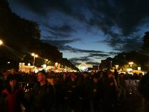 festival de nuit Images stock