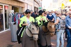 festival de Países Baixos-Winschoten Waterbei da rua-arte imagem de stock royalty free