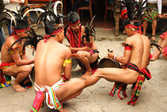 Festival de Panagbenga, ville de Baguio Photo stock