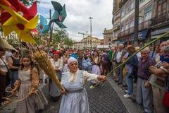 Festival de participants de St John Se produit chaque année pendant le milieu de l'été Images libres de droits