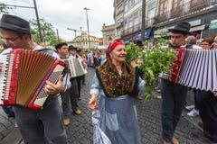 Festival de participants de St John Se produit chaque année pendant le milieu de l'été Photos libres de droits