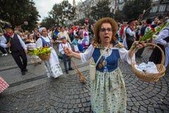 Festival de participants de St John Se produit chaque année pendant le milieu de l'été, Porto Photos libres de droits