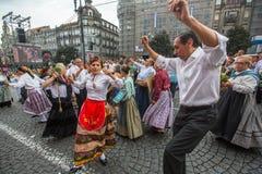 Festival de participants de St John Se produit chaque année pendant le milieu de l'été, Porto Photographie stock libre de droits