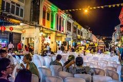 Festival de passeio da rua da noite da cidade de Phuket Imagens de Stock