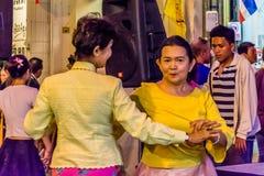 Festival de passeio da rua da noite da cidade de Phuket Foto de Stock Royalty Free