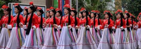 Festival de patrimoine mondial à Chengdu, Chine Image libre de droits
