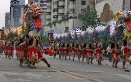Festival de patrimoine mondial à Chengdu, Chine Image stock