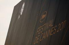 Festival de película 2011 de Cannes, France imagem de stock royalty free
