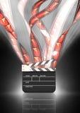 Festival de película stock de ilustración