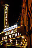 Festival de película de Sundance Fotografía de archivo libre de regalías