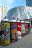 Festival de película de Toronto e instalación del arte Foto de archivo libre de regalías