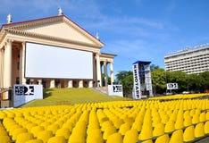 Festival de película Kinotavr-2012 do russo em Sochi Imagem de Stock