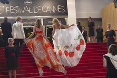 Festival de película de Cannes dos convidados Imagens de Stock Royalty Free