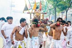 Festival de Phuket Vegeterian fotografia de stock royalty free