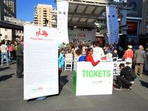 Festival de Piazza Italie Photos libres de droits