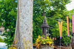 Festival de pilier de ville d'Inthakin Photo stock