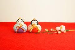 Festival de poupées d'Apanese pour des filles, et Hinamatsuri Photos libres de droits