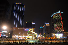 festival de primavera de 2013 chinos en Chengdu Imagen de archivo