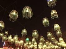 Festival de primavera festivo del chino de la linterna Fotos de archivo