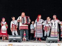 Festival de Pushkin na vila de Polotnyany Zavod, região de Kaluga, Rússia 6 de junho de 2016 Fotografia de Stock Royalty Free