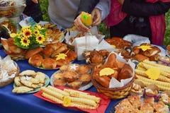 Festival de récolte d'automne Photos stock