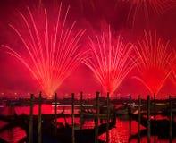 Festival de rédempteur des feux d'artifice Images libres de droits
