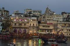 Festival de RajasthanMewar en Udaipur, la India EN ABRIL DE 2016 Imagen de archivo