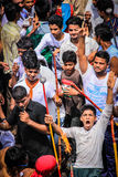Festival de Rathyatra, Ahmedabad, Inde image libre de droits