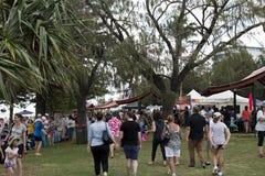 Festival de Redcliffe de las velas 2017 Foto de archivo libre de regalías