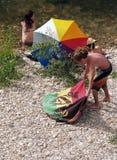 Festival de reggae dans le sur Ceze France de Bagnols Image stock