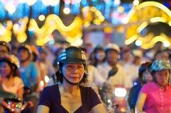 Festival de resorte en Vietnam Foto de archivo libre de regalías