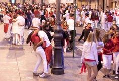 Festival de San Fermin Images stock