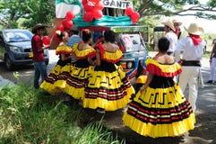 Festival de Sanjuanero Huilense - Colombia imagen de archivo libre de regalías