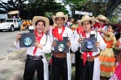 Festival de Sanjuanero Huilense - Colombia fotos de archivo