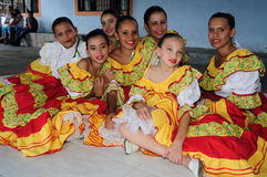 Festival de Sanjuanero Huilense - Colombia fotos de archivo libres de regalías