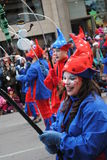 Festival de Santa clous à Montréal Photographie stock