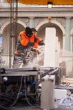 Festival de sculpture en glace à Poznan Photo libre de droits