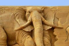 Festival de sculpture en sable Photographie stock libre de droits