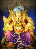festival de seigneur Ganesha d'INDE photos libres de droits