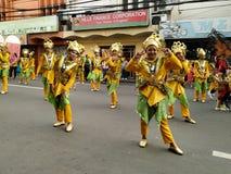 Festival de Sinulog fotografia de stock royalty free