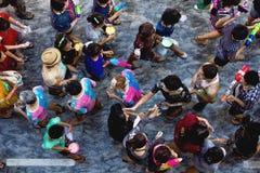 Festival de Songkarn Imagen de archivo libre de regalías