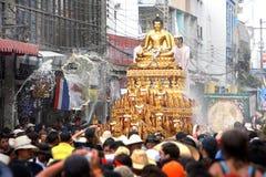 Festival de Songkarn em Chiang Mai, Tailândia Foto de Stock Royalty Free